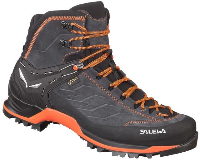 SALEWA MTN Trainer Mid GTX Schoenen Heren, asphaltfluo orange